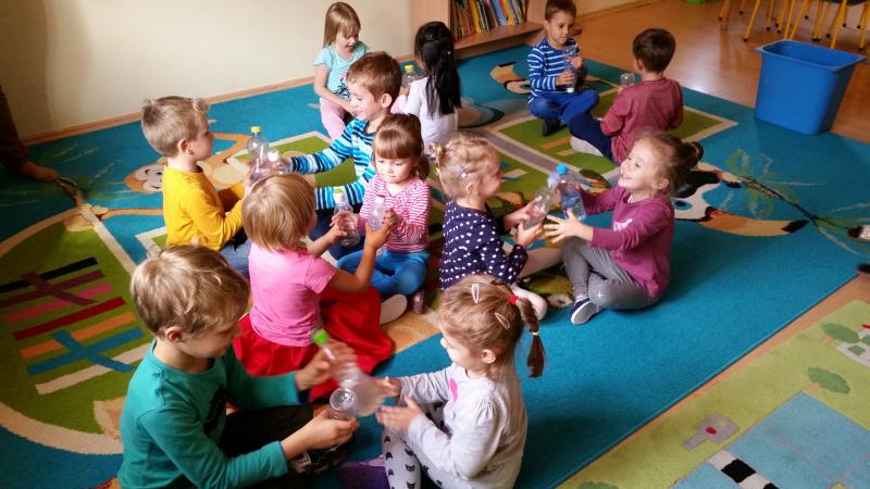 Zajęcia adaptacyjne dla nowych przedszkolaków